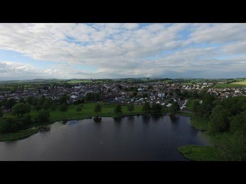 Castle Douglas From Above - 28/06/15