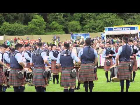 European Pipe Band Championships, Forres, 2013