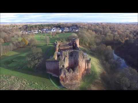 Bothwell Castle Drone