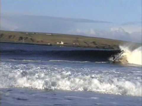 Thurso East Surfers