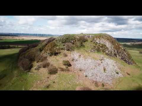 Loudoun Hill, Ayrshire By Drone 4K