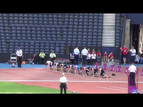 Michael Olsen Wins Under 17 Scottish Schools 100m Final