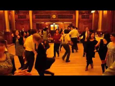Ceilidh At The University Of Edinburgh