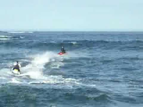 Wave Jumping Jetski In Wick Caithness Part 9
