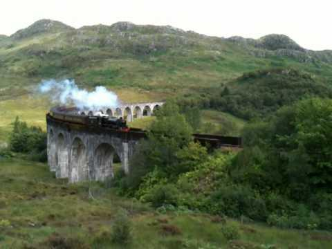Harry Potter Train Glenfinan Scotland
