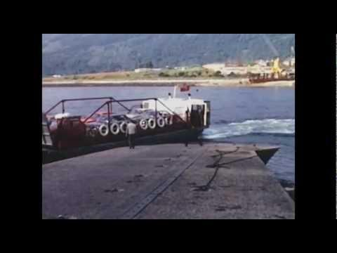 The Ballachulish Car Ferry 1973