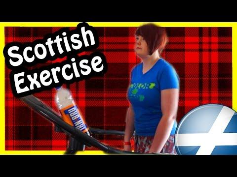 How Scottish People Exercise