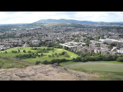 Going Up  Arthur's Seat Edinburgh  (822 Ft)