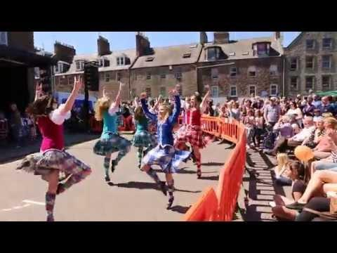 Highland Dancers In Montrose 2013