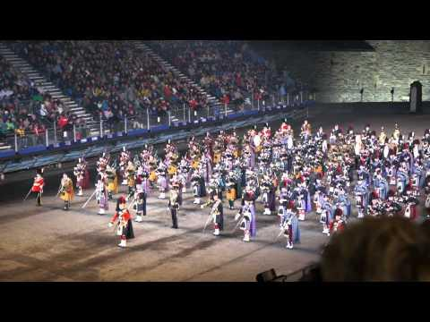 Edinburgh Tattoo 2010 Finale - Scotland The Brave HD