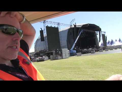 T In The Park 2014 - Geoff Ellis Tour Of T In The Park Site