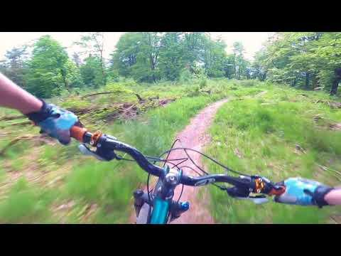 Drumlanrig Red & Black MTB Trails - Feiyu Tech Gimbal WG2