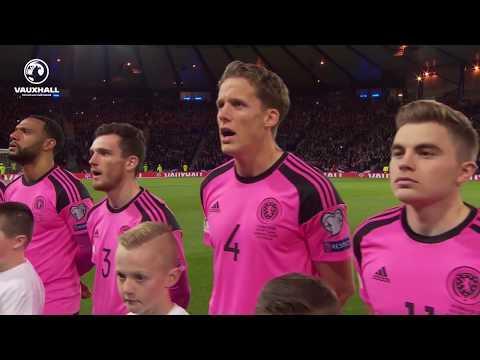 Flower Of Scotland – Scotland V Slovakia