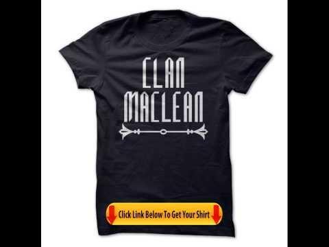 Clan MacLean Tshirts Hoodies