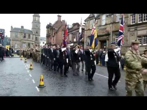 Stirling Remembrance Sunday 2016