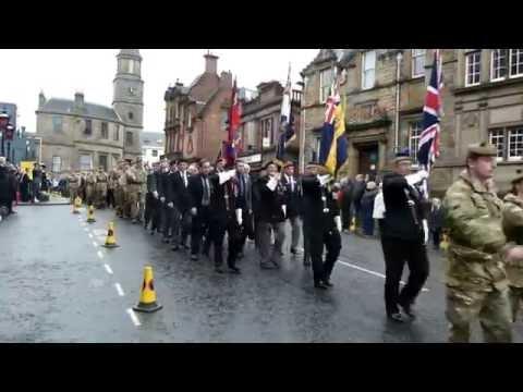 Stirling Remembrance Sunday 2016