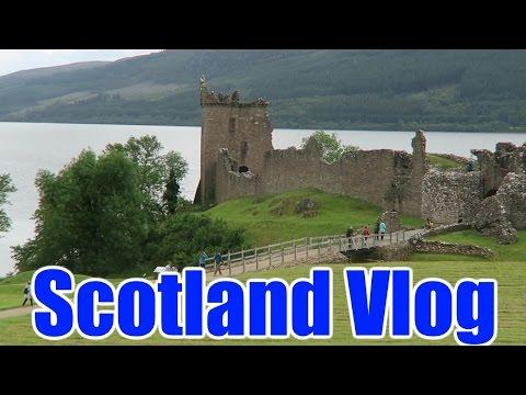 Scotland Vlog Day 3 - William Wallace Monument & Stirling Castle
