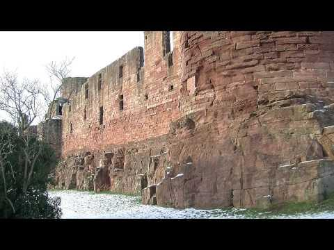 Bothwell Castle Near Uddingston JVC GY-HM100