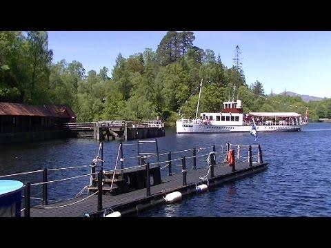 Sailing On Loch Katrine On The Sir Walter Scott - Trossachs Scotland