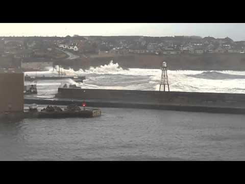Grey Day At Wick Bay 17 January 2014