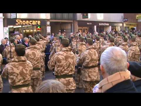 Argyle & Sutherland Highlanders Return From Afghanistan