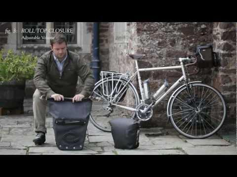 BROOKS // Land's End & John O'Groats Travel Panniers